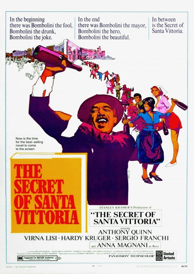 The Secret of Santa Vittoria Poster
