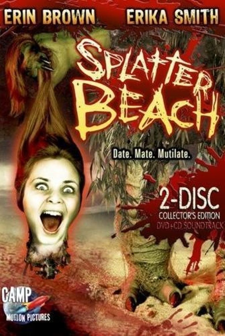 Splatter Beach Poster