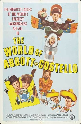 The World of Abbott and Costello Poster