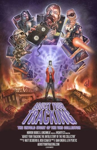 Adjust Your Tracking: The Untold Story of the VHS Collector Poster