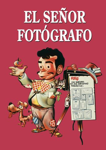 El señor fotógrafo Poster