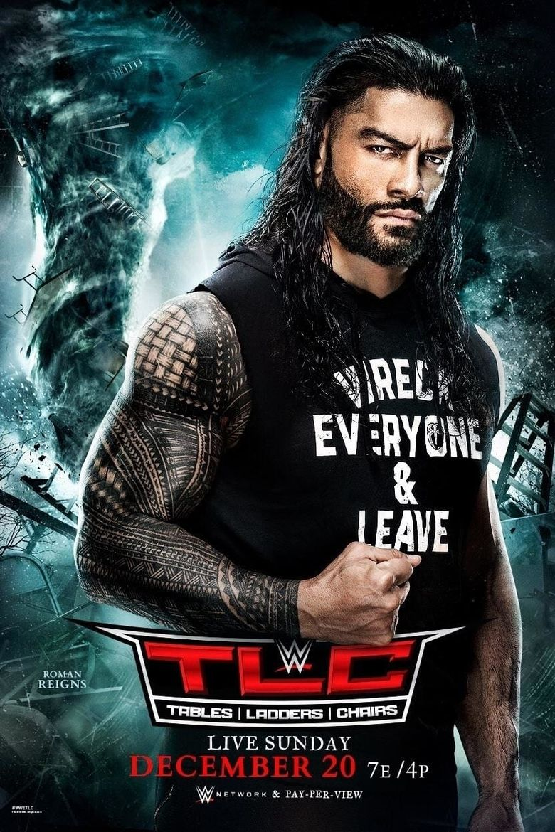 WWE TLC: Tables, Ladders & Chairs 2020 Poster