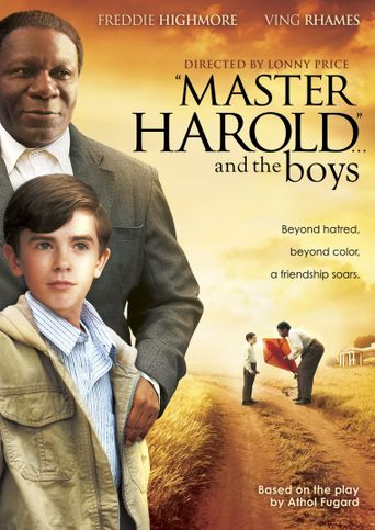 Master Harold... and the Boys Poster