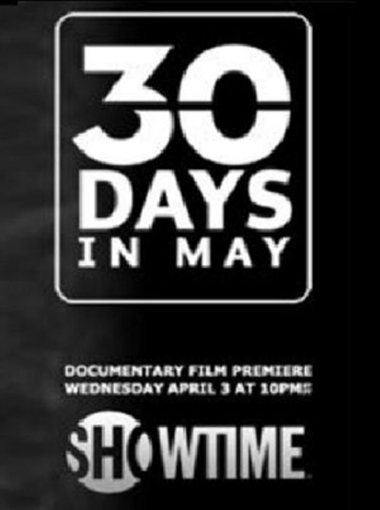 30 Days in May Poster