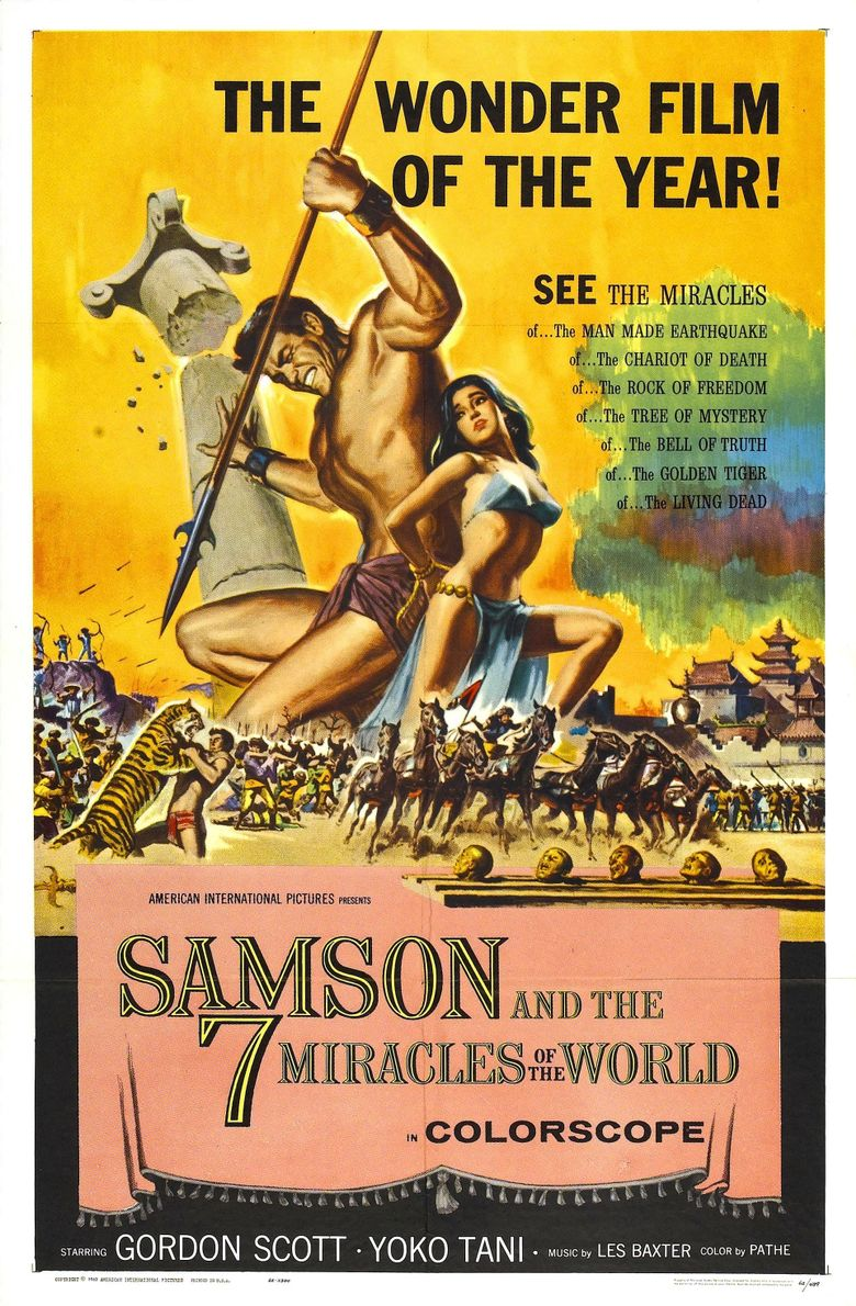 Samson and the Seven Miracles of the World Poster