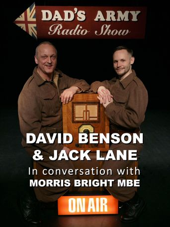 David Benson & Jack Lane in conversation with Morris Bright MBE Poster