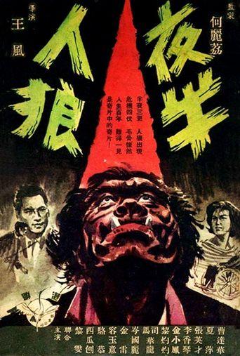 Midnight Werewolf Poster