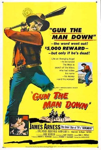 Gun The Man Down Poster