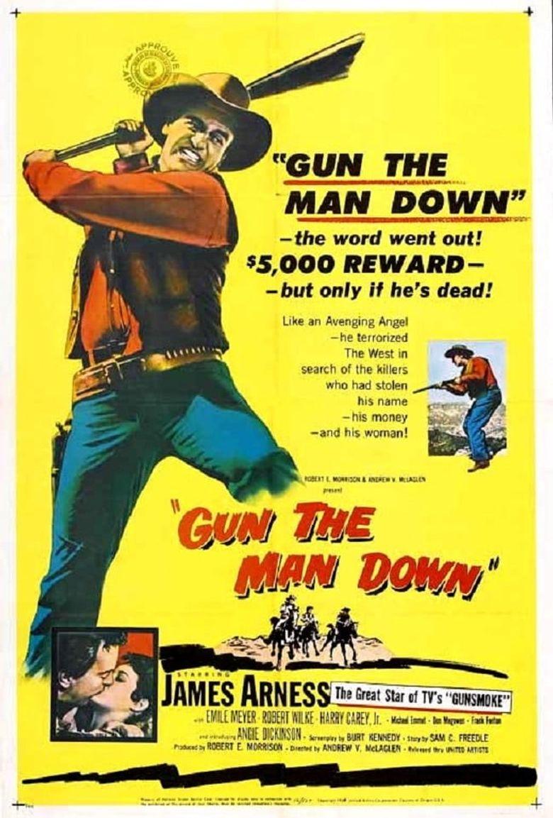 Gun the Man Down Poster