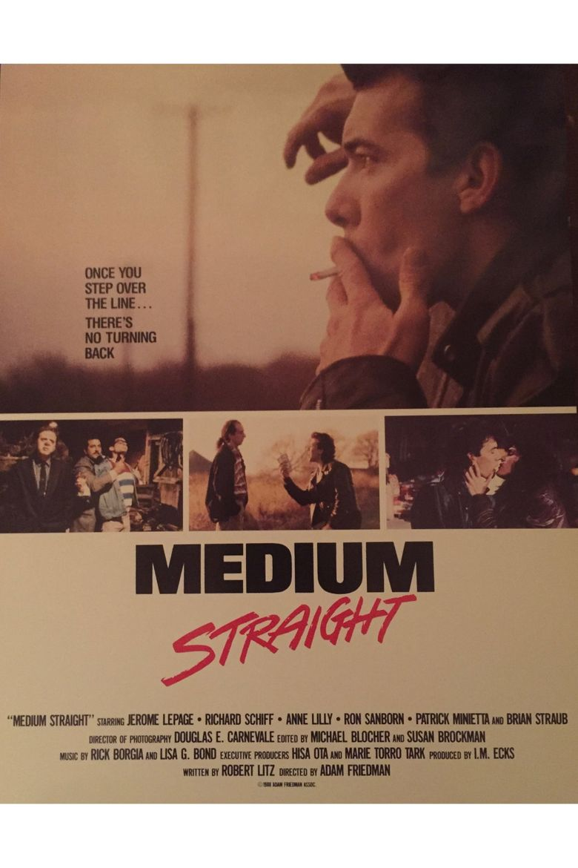 Medium Straight Poster