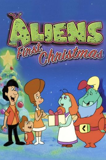 Aliens' First Christmas Poster