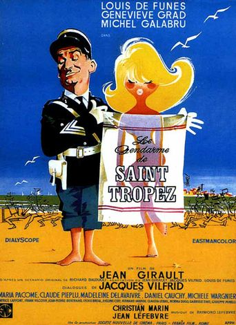 The Gendarme of St. Tropez Poster