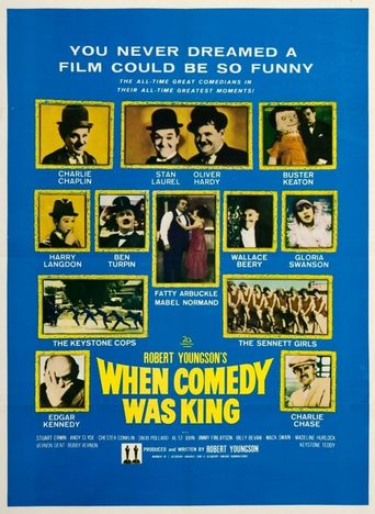 When Comedy Was King Poster