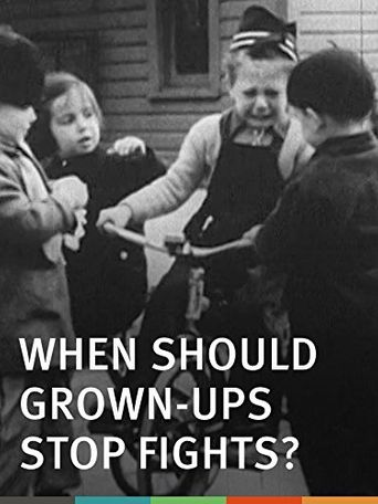 When Should Grown-Ups Stop Fights? Poster