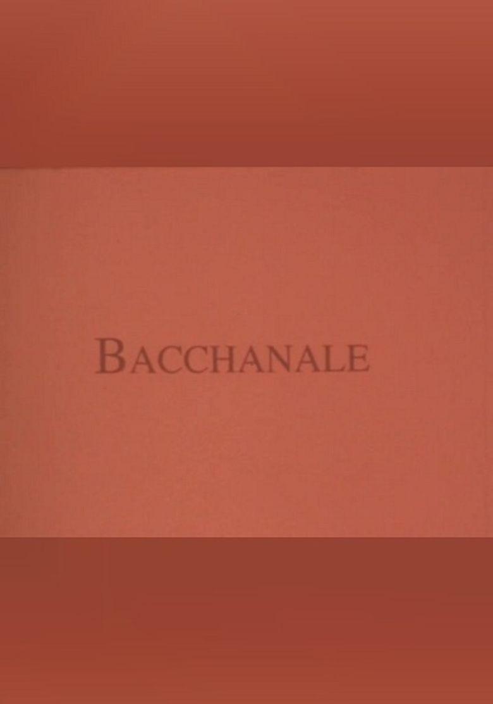 Bacchanale Poster