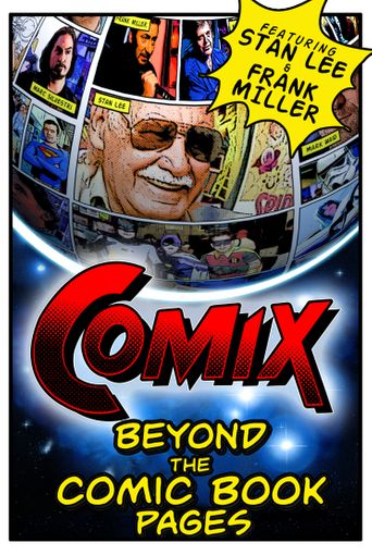 COMIX: Beyond the Comic Book Pages Poster