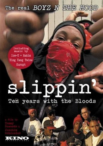 Slippin': Ten Years with the Bloods Poster