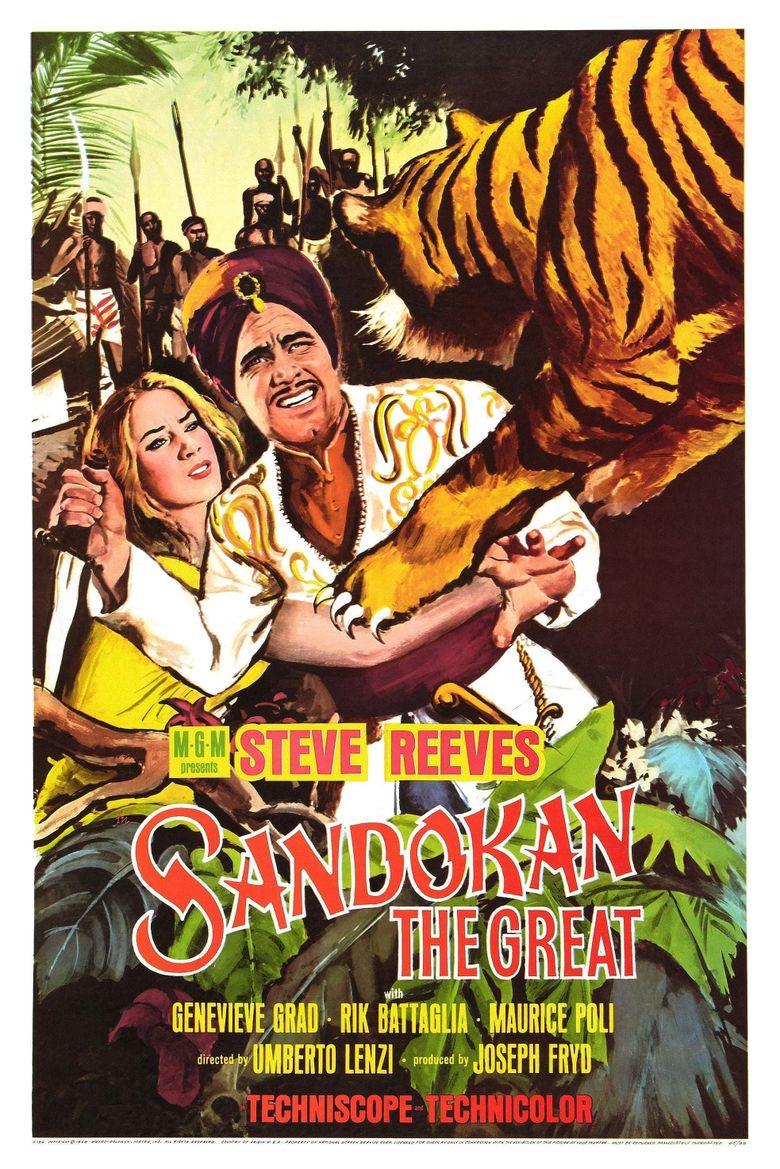 Sandokan the Great Poster