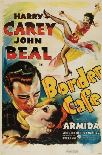 Border Cafe Poster