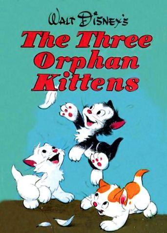 Three Orphan Kittens Poster