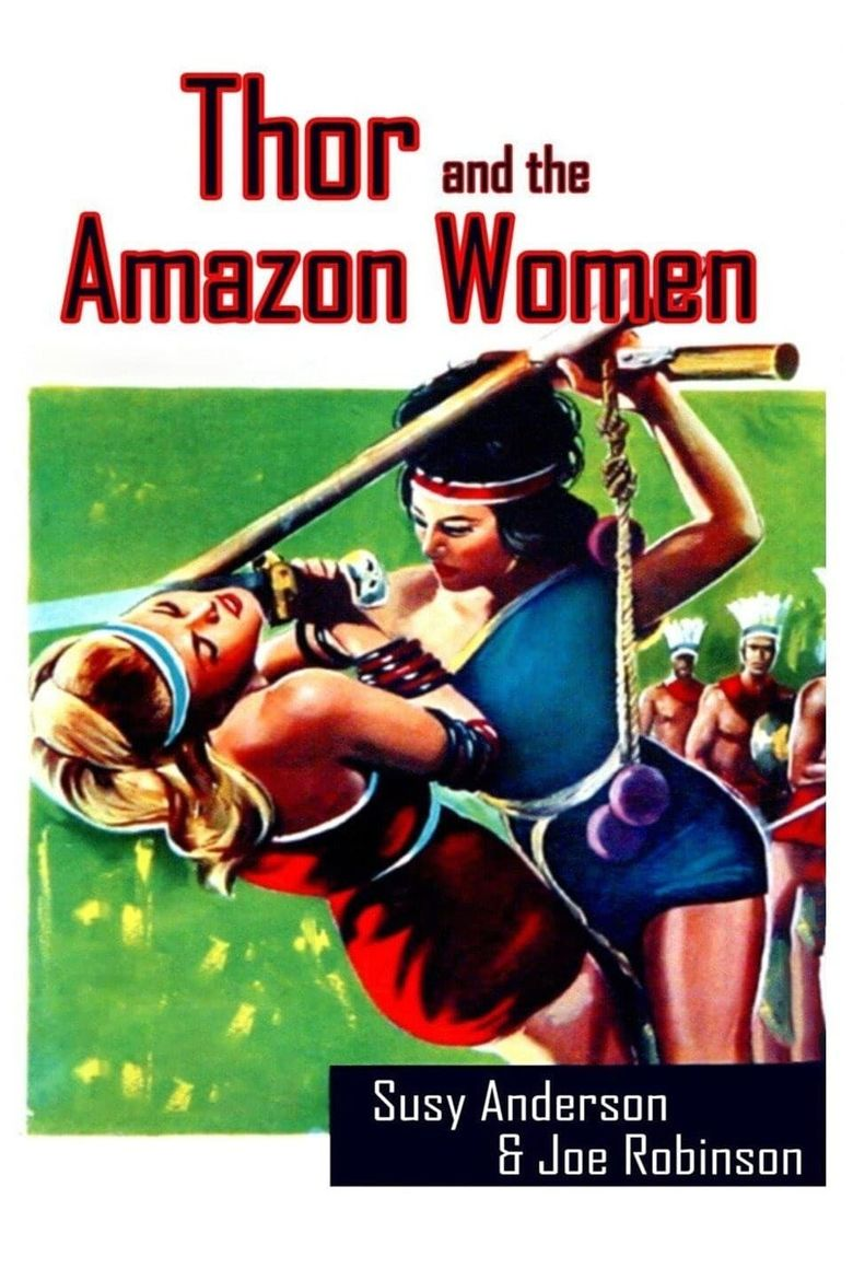 Thor and the Amazon Women Poster