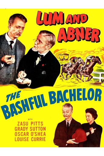 The Bashful Bachelor Poster