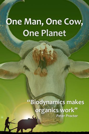 One Man, One Cow, One Planet Poster