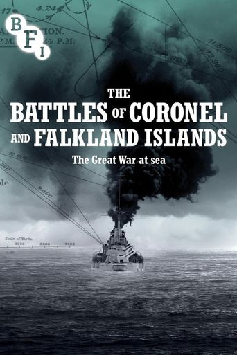 The Battles of the Coronel and Falkland Islands Poster