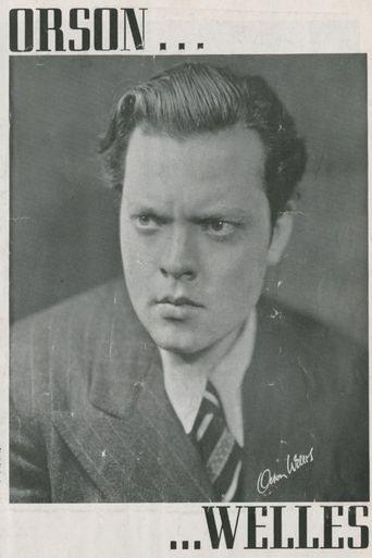 Orson Welles' Magic Show Poster
