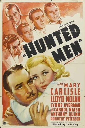 Hunted Men Poster