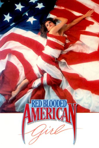 Red Blooded American Girl Poster