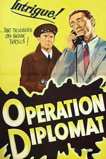 Operation Diplomat Poster