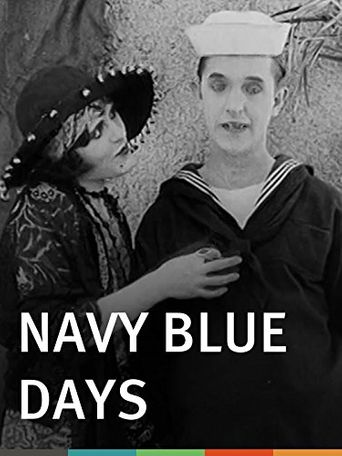 Navy Blue Days Poster