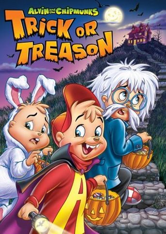 Alvin and the Chipmunks - Trick or Treason Poster