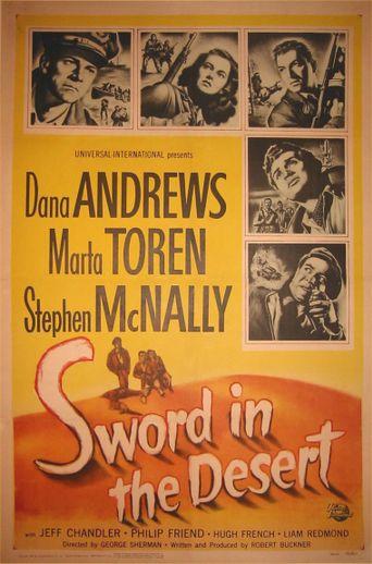 Sword in the Desert Poster