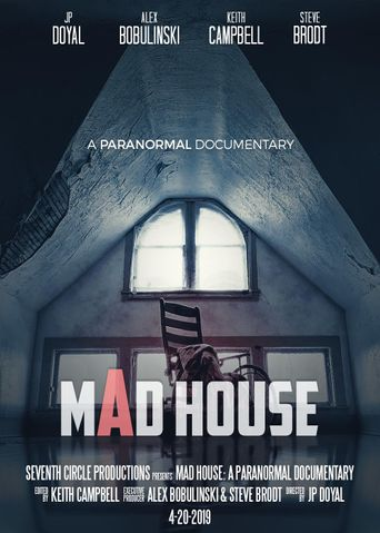 Mad House: A Paranormal Documentary Poster