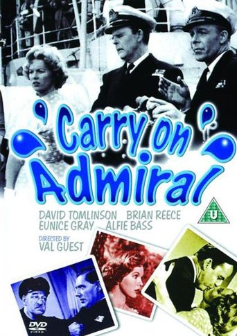 Carry on Admiral Poster