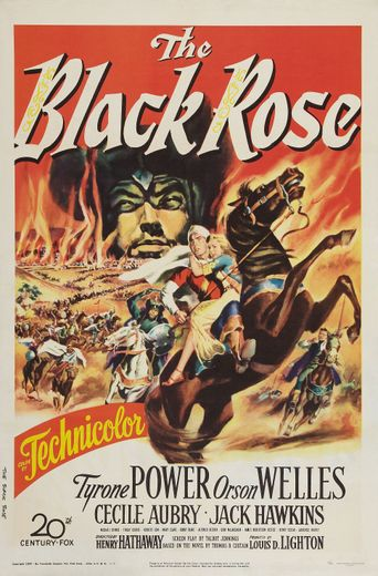 The Black Rose Poster