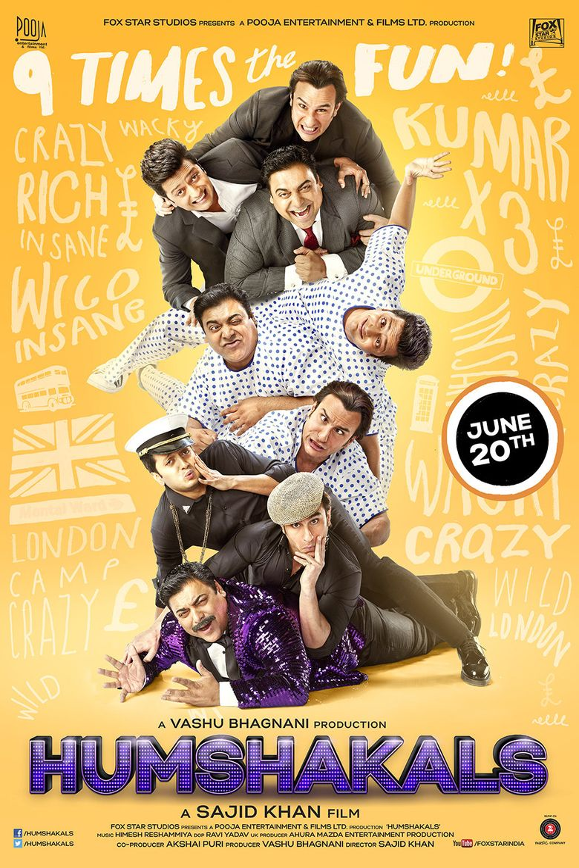 Humshakals Poster