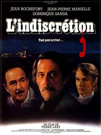 L'indiscrétion Poster