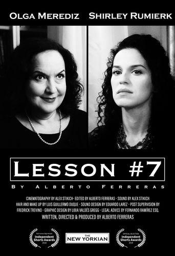 Lesson #7 by Alberto Ferreras Poster