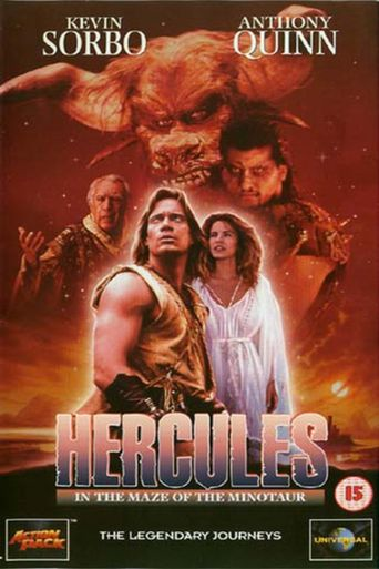 Hercules in the Maze of the Minotaur Poster