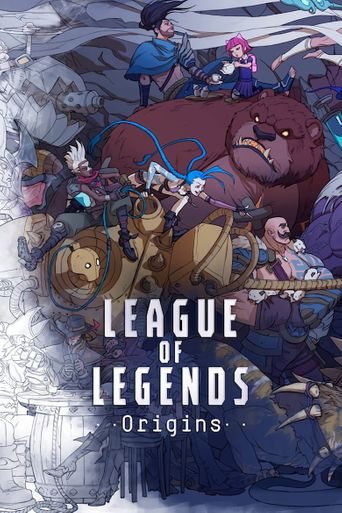 League of Legends Origins Poster