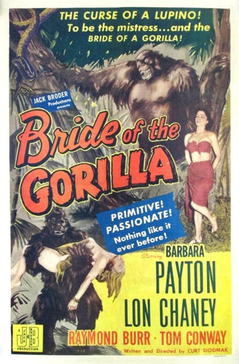 Bride of the Gorilla Poster
