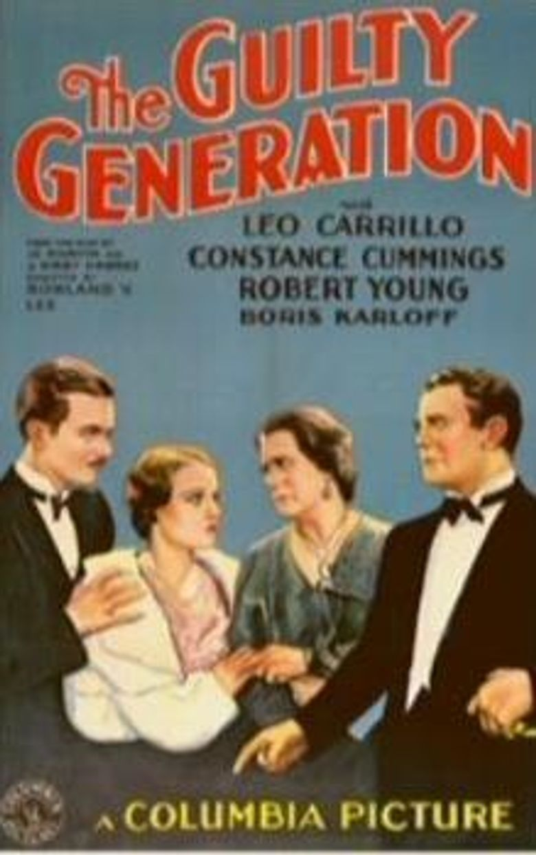 The Guilty Generation Poster