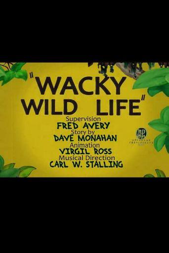 Wacky Wildlife Poster