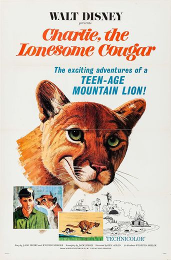 Charlie, the Lonesome Cougar Poster