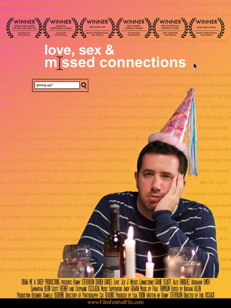 Love, Sex, and Missed Connections Poster
