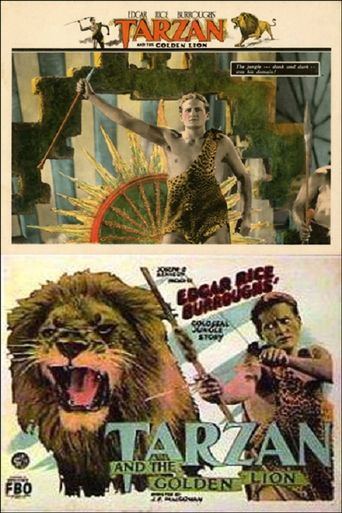 Tarzan and the Golden Lion Poster