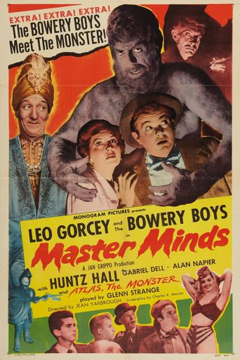 Master Minds Poster